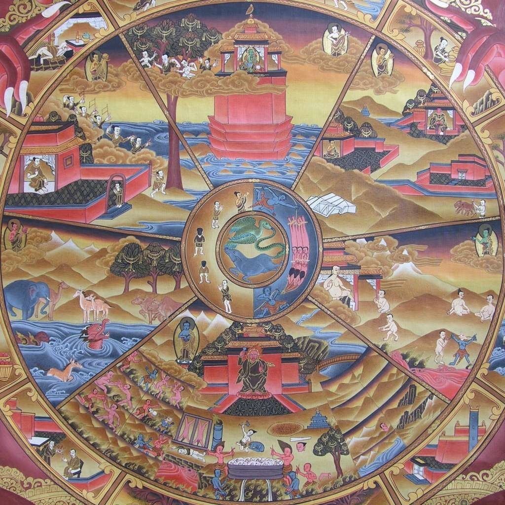 Karma and the 6 realms of existence in buddhism lie for truth 20121210 121713g buycottarizona Image collections